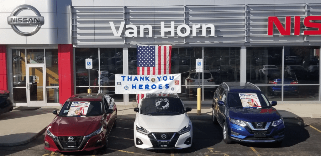 van horn thank you heroes