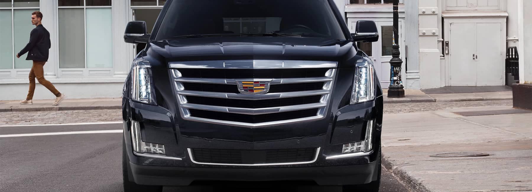 2020 Cadillac Escalade Full-Size SUV Front Grille View