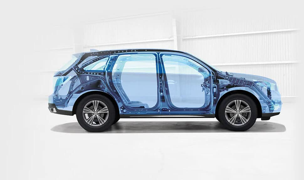Acura ACE Body Structure MDX Image