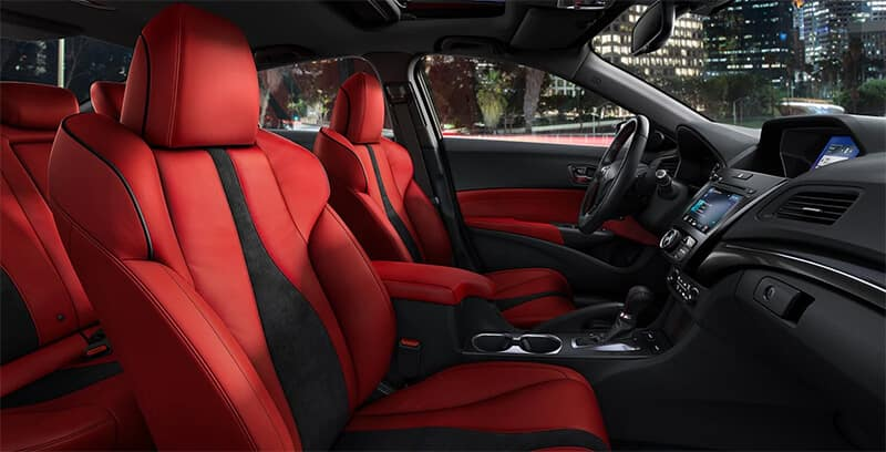Acura ILX vs. Lexus IS 300 Interior Image