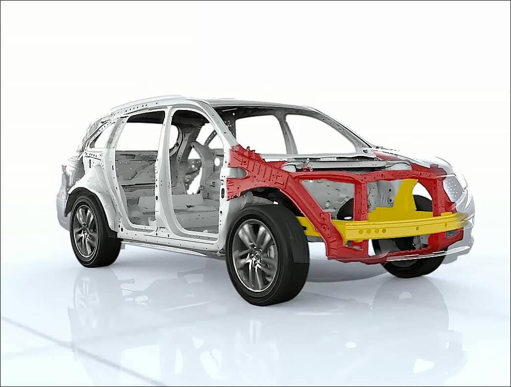 Acura MDX ACE Body Structure Image