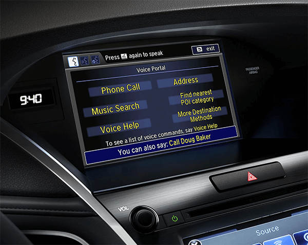 Acura Natural Language Voice Recognition Image