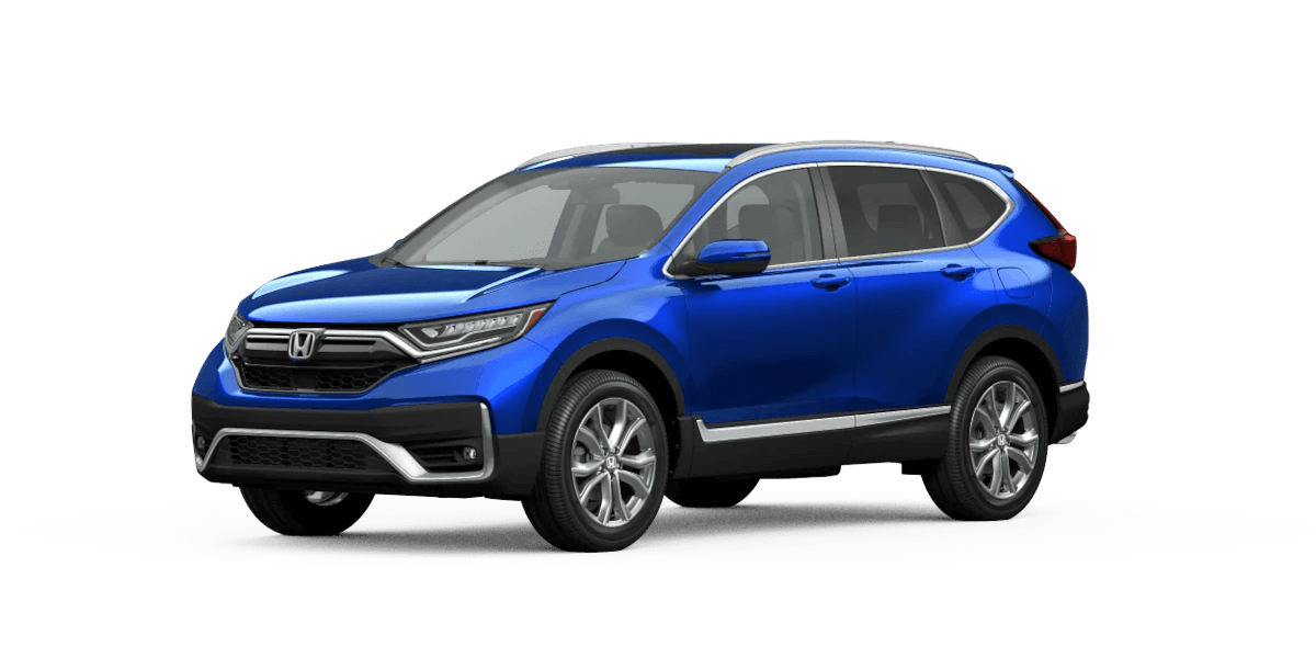 2020 Honda CR-V Aegean Blue Metallic Jellybean