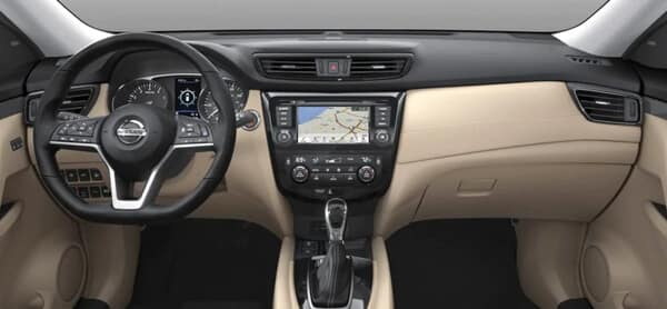 2020 Nissan Rogue Interior Features Image