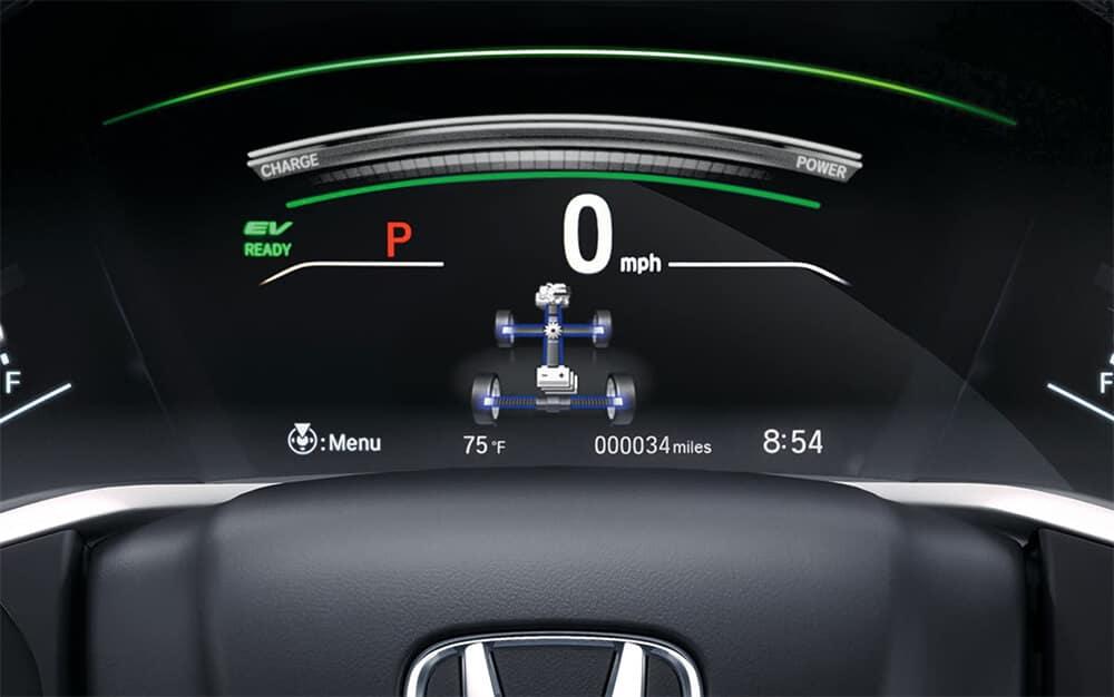 2021 Honda CR-V Hybrid Power Flow Monitor Image