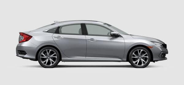 2021 Honda Civic Sedan Size
