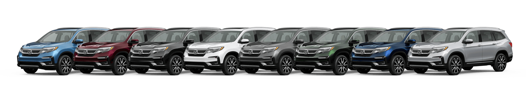 2021 Honda Pilot Color Options