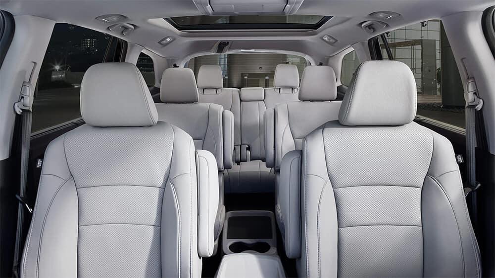 2021 Honda Pilot Three-Row Interior Image