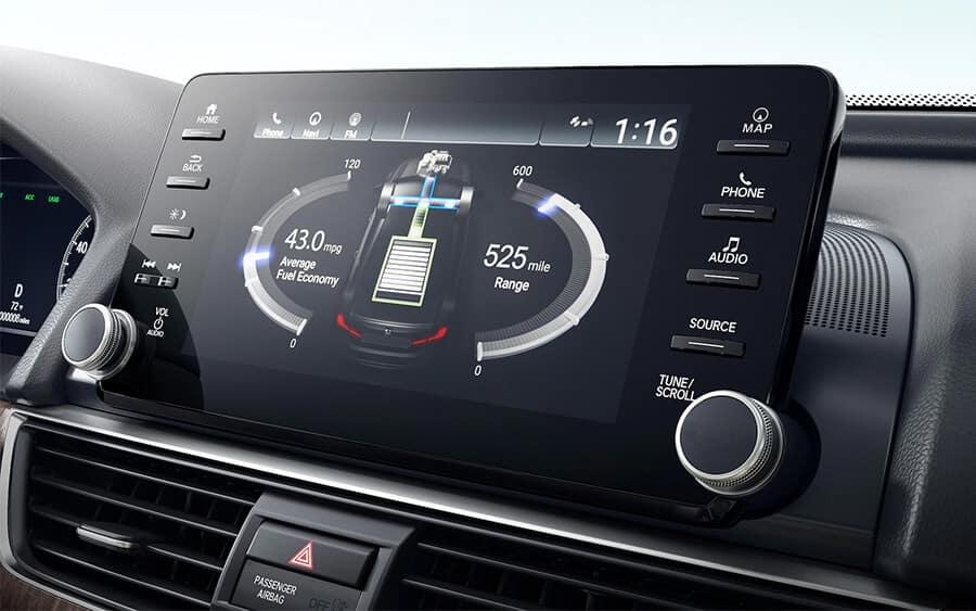 Best Family Cars: Honda Accord Hybrid Image