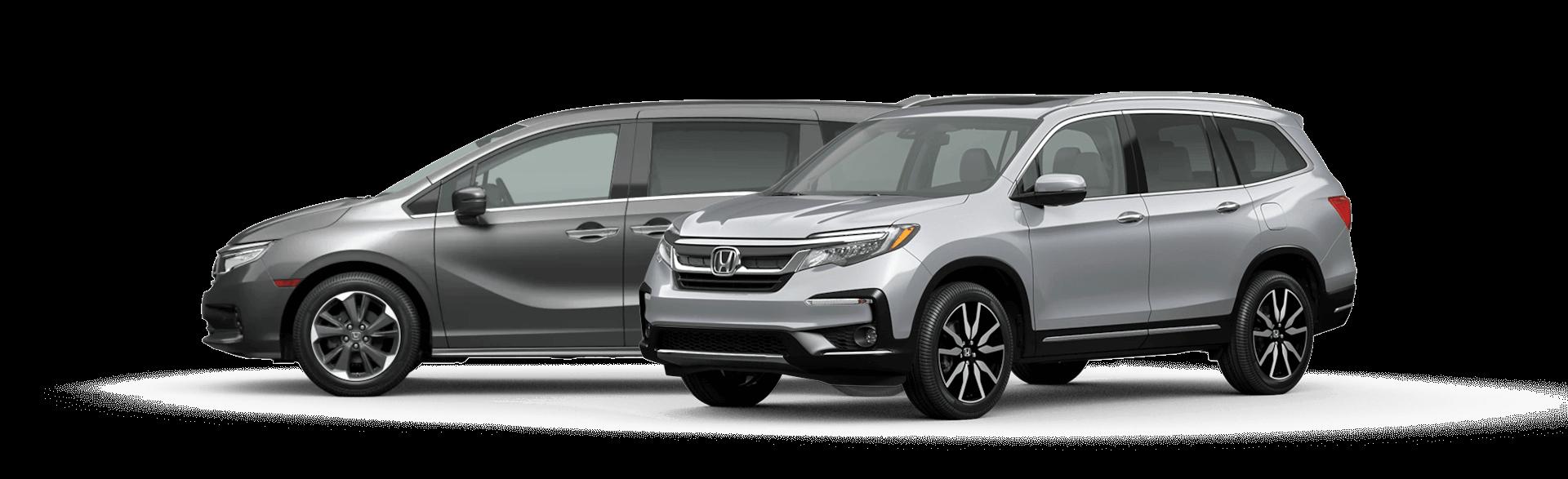 Best Family Cars: Honda Odyssey and Honda Pilot