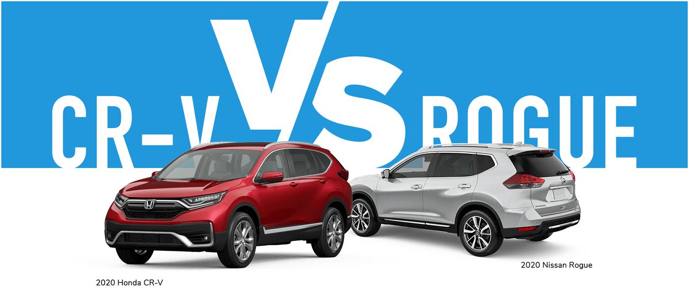 Honda CR-V vs. Nissan Rogue Vern Eide Honda Banner