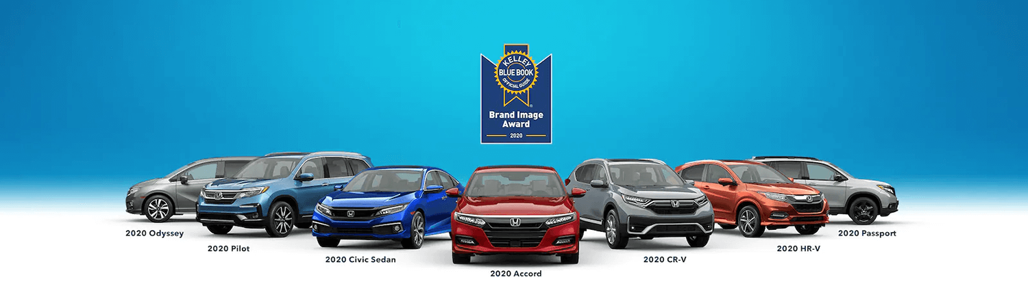 Honda Kelley Blue Book Award Banner
