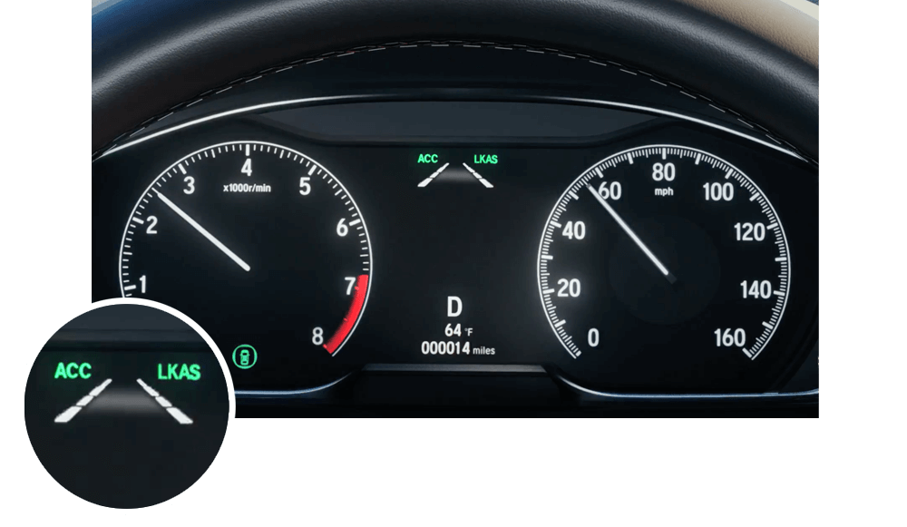 Honda LKAS Instrument Panel Icon