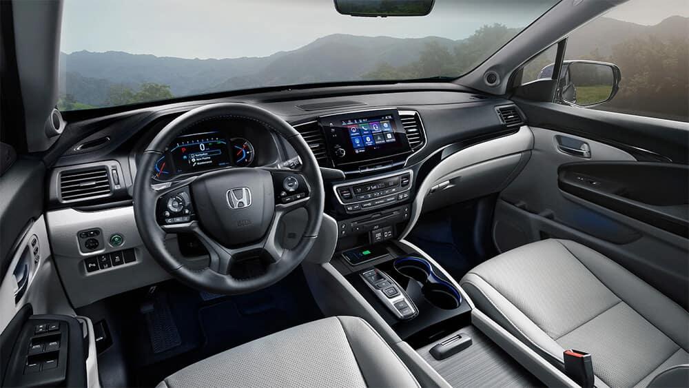 Subaru Ascent vs. Honda Pilot Cabin Image