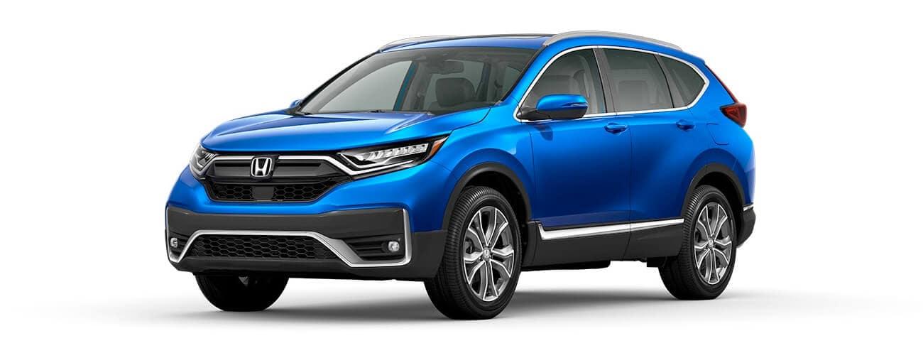 2021 Honda CR-V Aegean Blue Metallic Jellybean