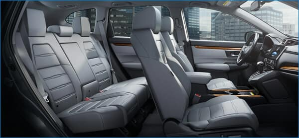2021 Honda CR-V Interior Dimensions vs. HR-V