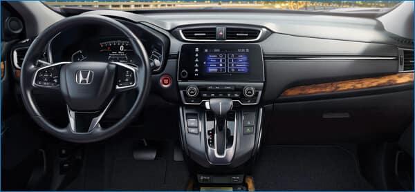 2021 Honda CR-V Technology Features vs. HR-V