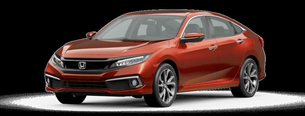2021 Honda Civic Sedan Molten Lava Pearl Jellybean