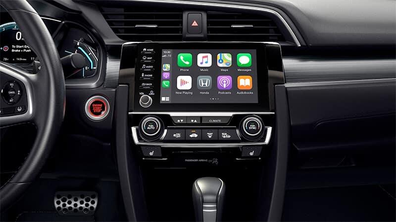 2021 Honda Civic Sedan Technology Image