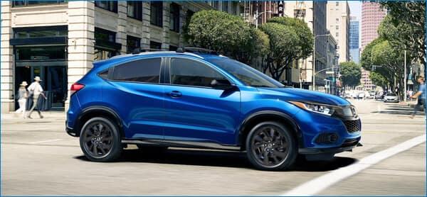 2021 Honda HR-V Performance vs. CR-V