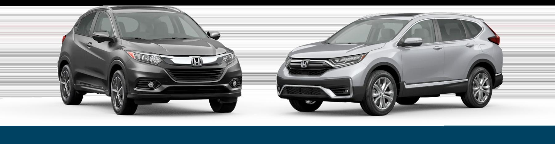 2021 Honda HR-V vs. 2021 Honda CR-V Jellybean