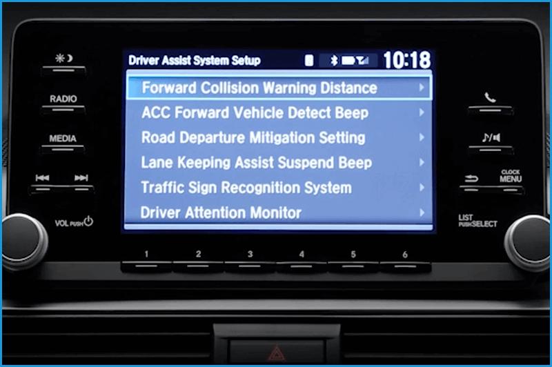 CMBS Settings Screen Vern Eide Honda Sioux City Image