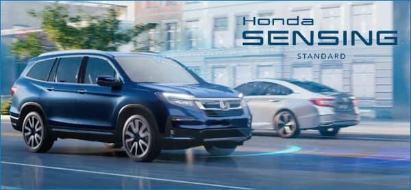 CR-V vs. 2021 Honda Pilot Safety Image