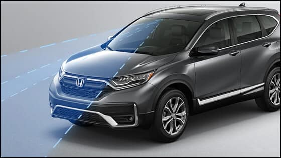 Honda CR-V Lane Keeping Assist Image