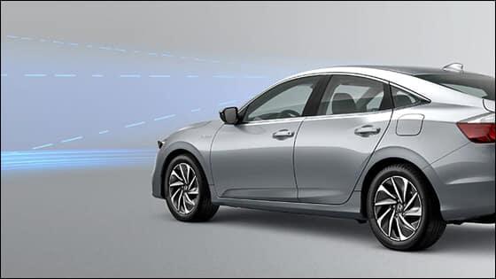 Honda Insight Lane Keeping Assist Image