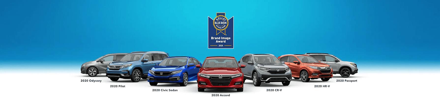 Honda Kelley Blue Book Best Value Brand Banner