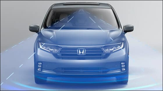 Honda Odyssey with Adaptive Cruise Control
