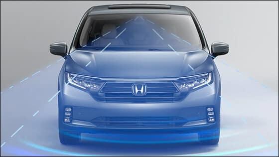 Honda Odyssey Lane Keeping Assist Image