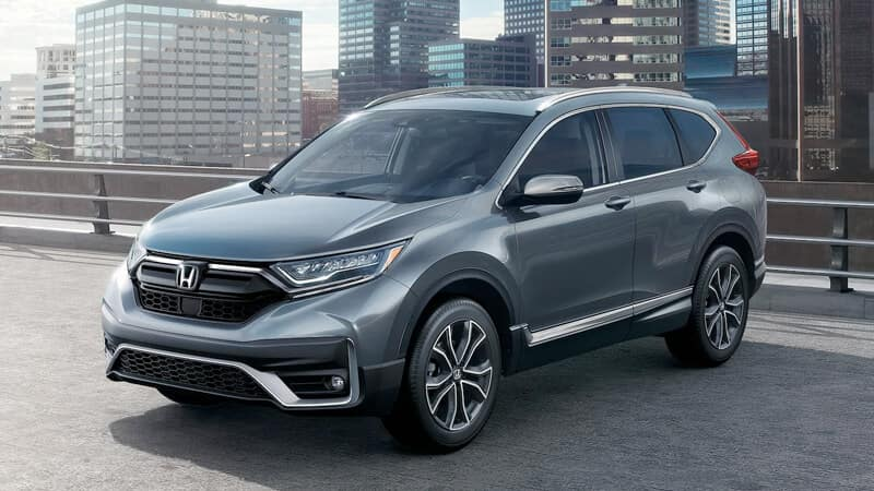 Honda SUVs Versus the Competition CR-V Image