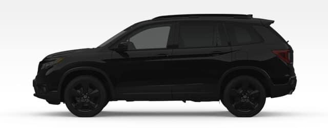 Midsize SUV Silhouette