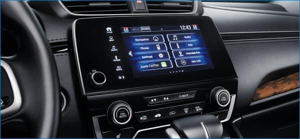 Pilot vs. 2021 Honda CR-V Features Image