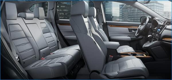 Pilot vs. 2021 Honda CR-V Interior Image