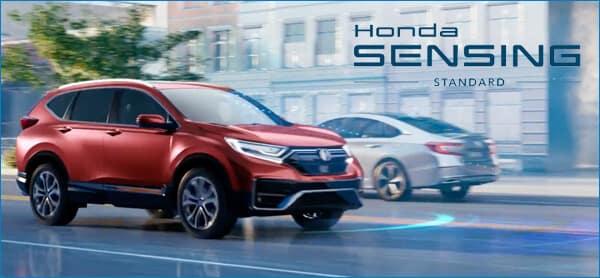 Pilot vs. 2021 Honda CR-V Safety Image