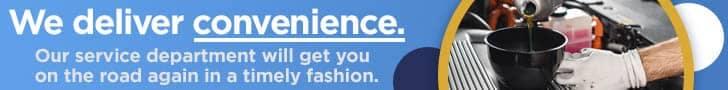 we deliver convenience banner