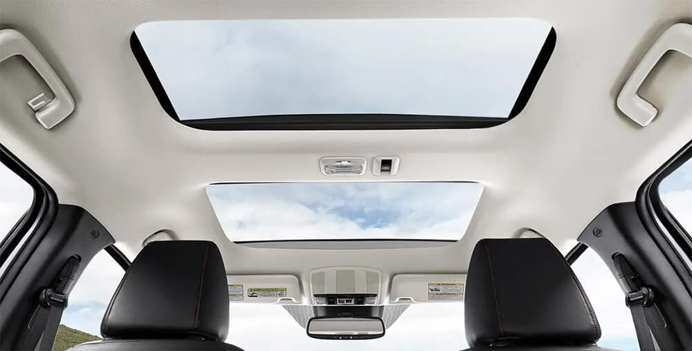 2020 Mitsubishi Eclipse Cross Panoramic Sunroof Image