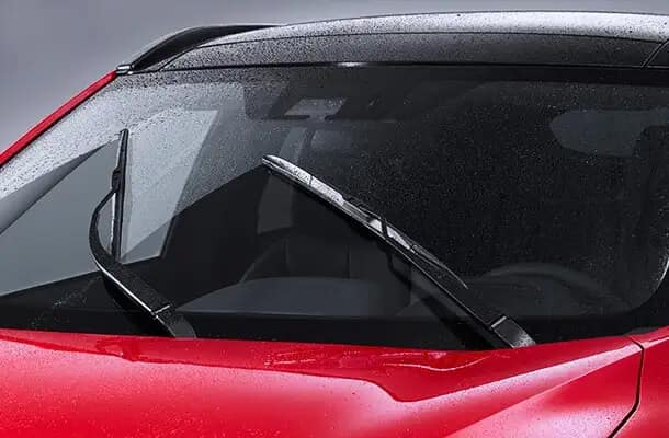 2020 Mitsubishi Eclipse Cross Rain-Sensing Windshield Wipers