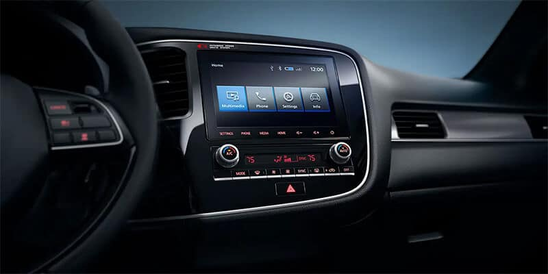 2020 Mitsubishi Outlander Smartphone Link Display Audio