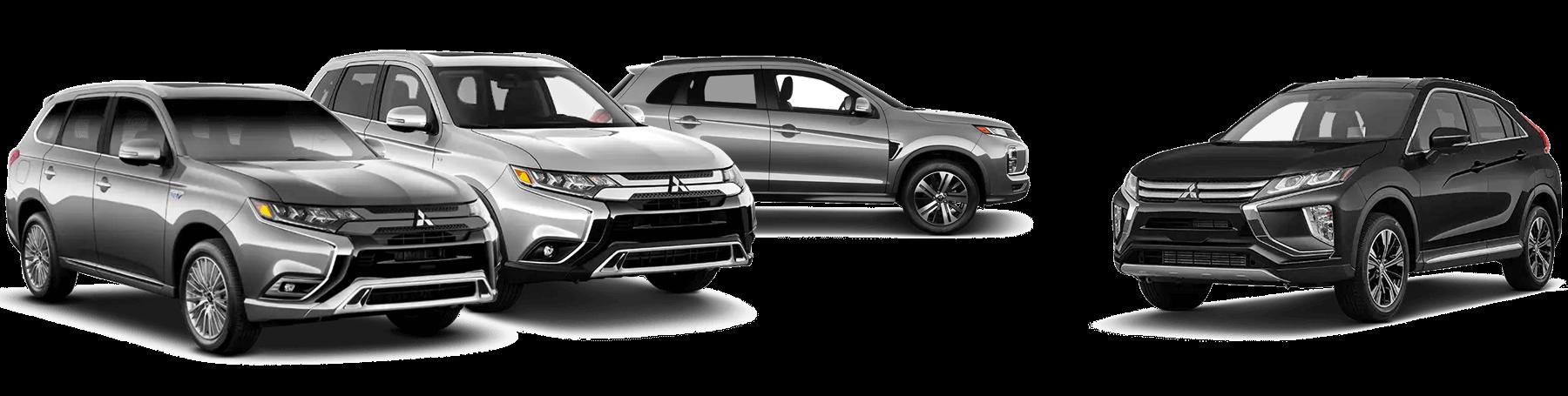 2020 Mitsubishi SUV Lineup