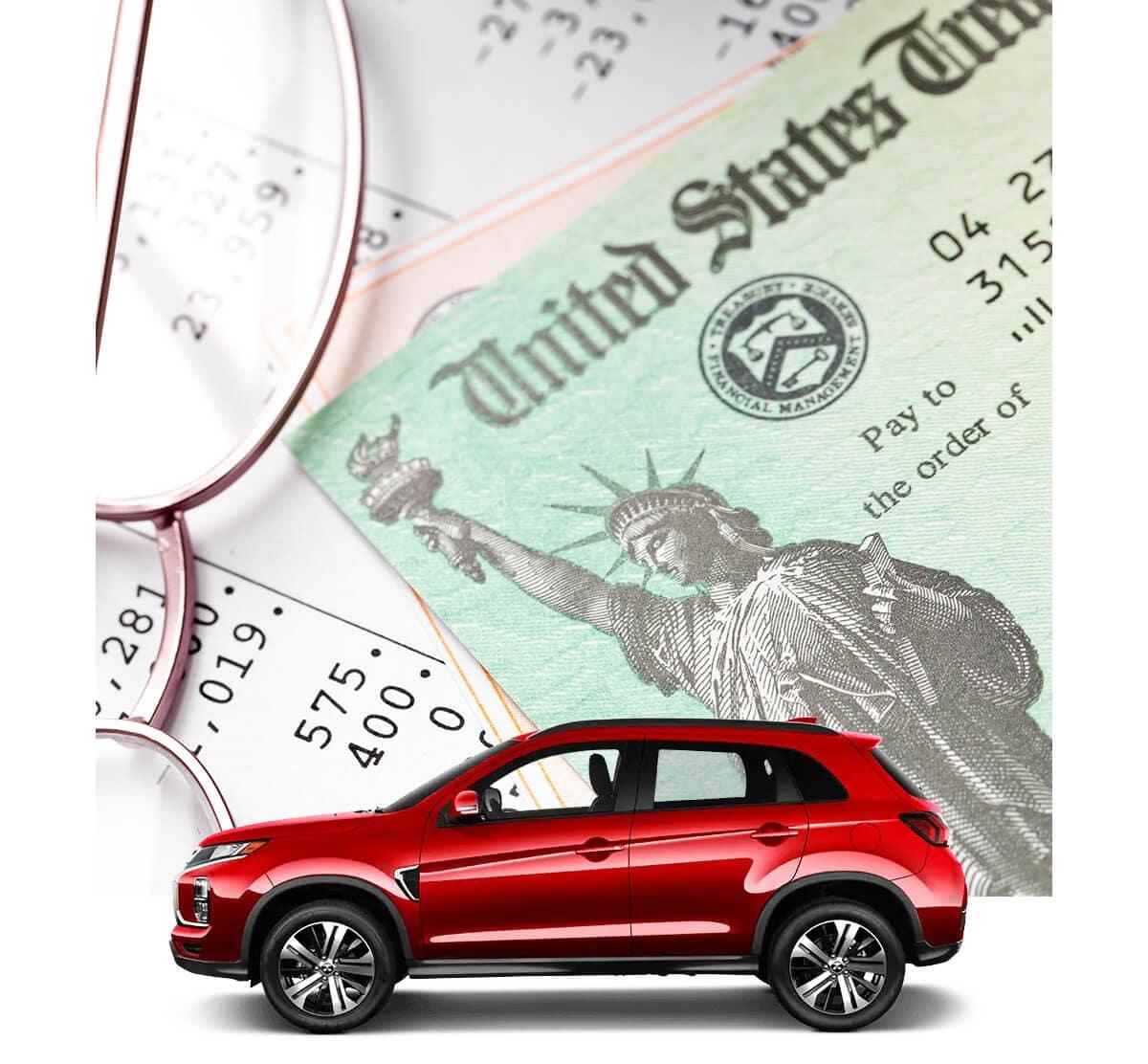 Mitsubishi Outlander Sport Tax Refund Image