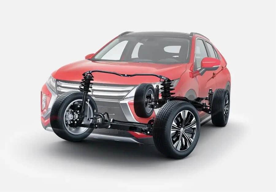 Mitsubishi S-AWC Chassis Image