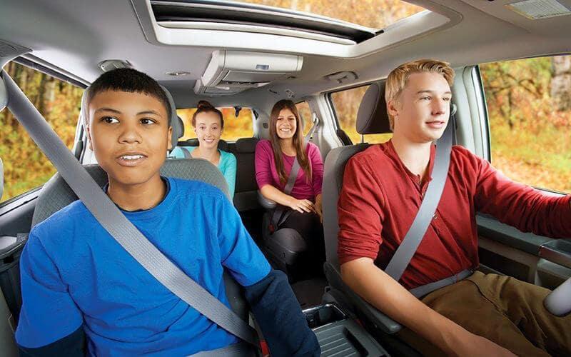 Teen Driving Safety Program Seatbelt Image