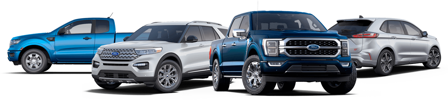 Ford Dealership Vehicle Lineup