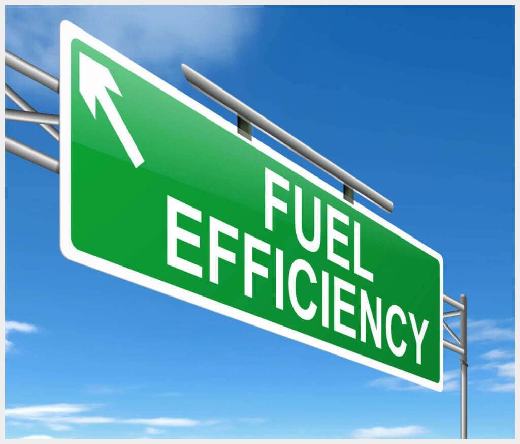 Vern Eide Motorcars Fuel Efficiency Road Sign Image