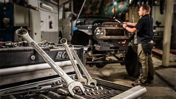 Vern Eide Motorcars Home Garage Repair Image