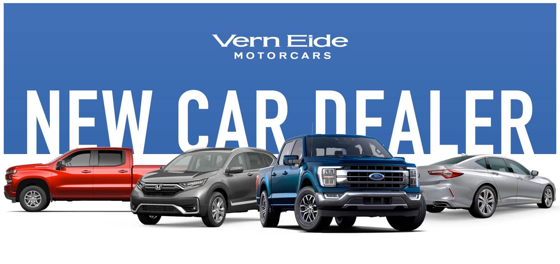 Vern Eide Motorcars New Car Dealer Button
