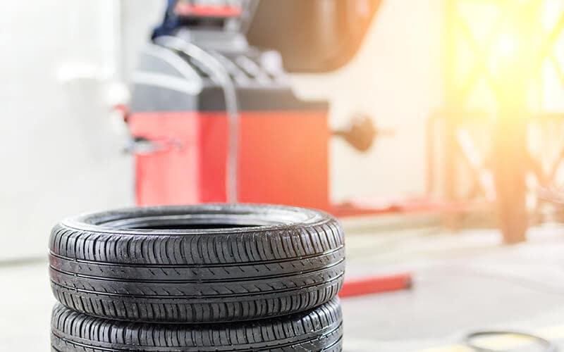 Vern Eide Motorcars Reconditioning Facilities Tire Image